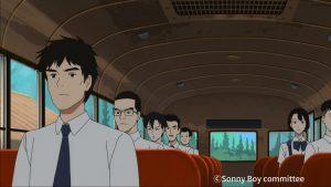 サニボあき先生グループのバス
